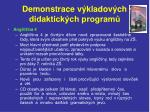 demonstrace v kladov ch didaktick ch program8