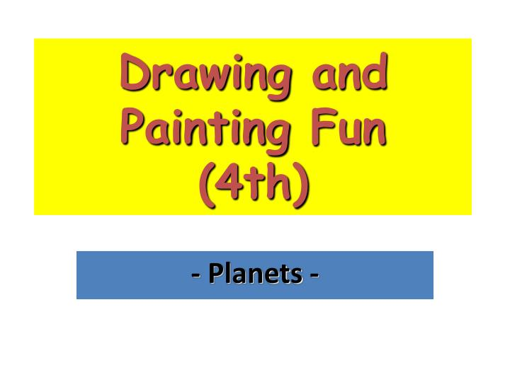 drawing and painting fun 4th n.