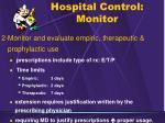hospital control monitor