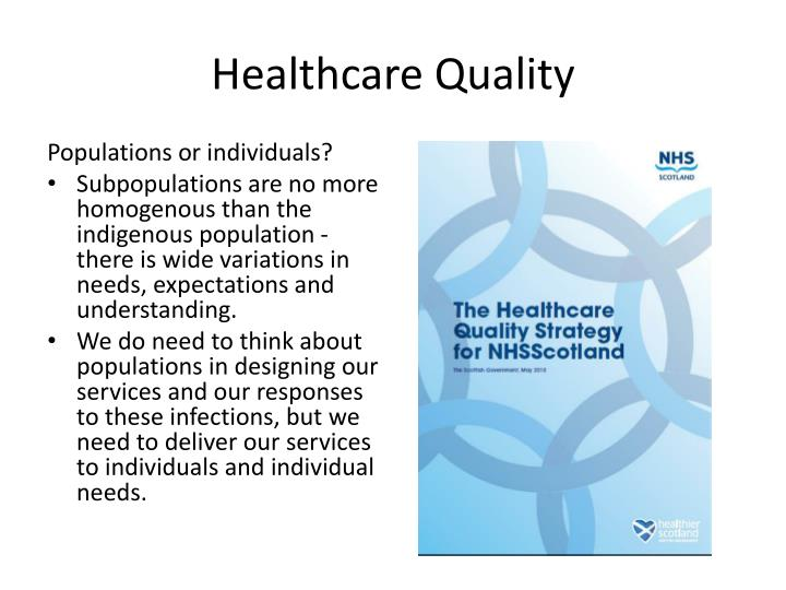 the importance of case management in quality healthcare Quality management in healthcare is of critical importance to the healthcare industry and the patient everyone in the loop -from physicians to practitioners to support staff -needs to be aware of the importance of quality management in healthcare.