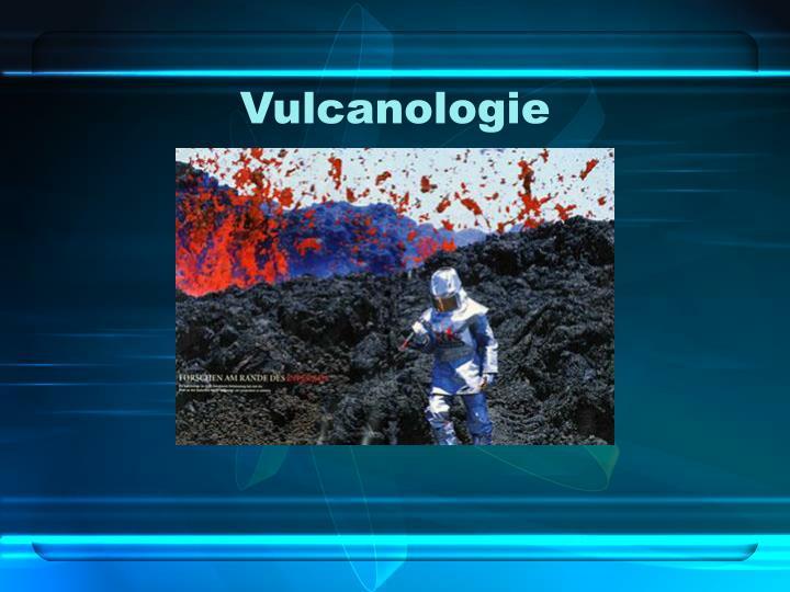 Vulcanologie
