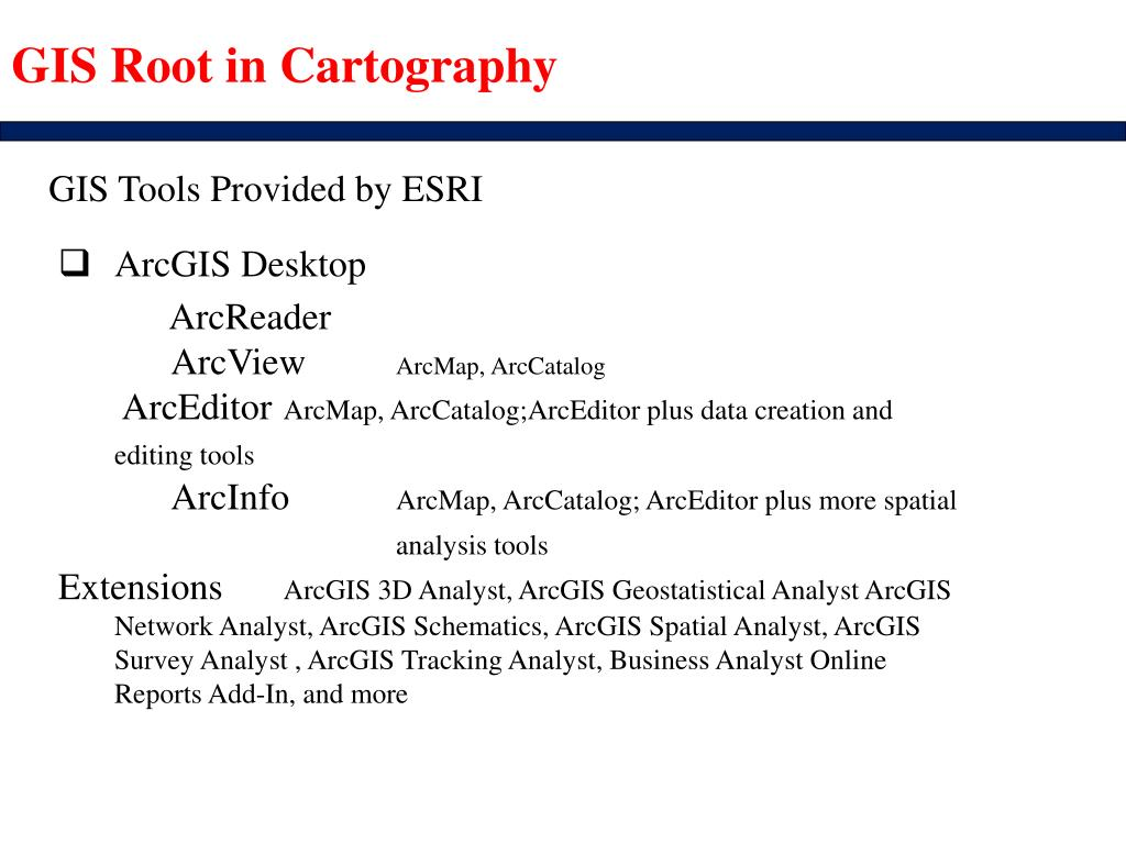 Arcgis cartography extension