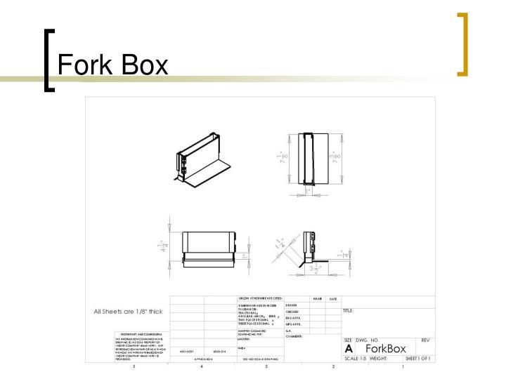 Fork Box