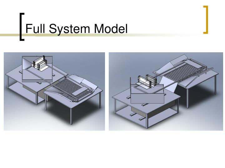 Full System Model