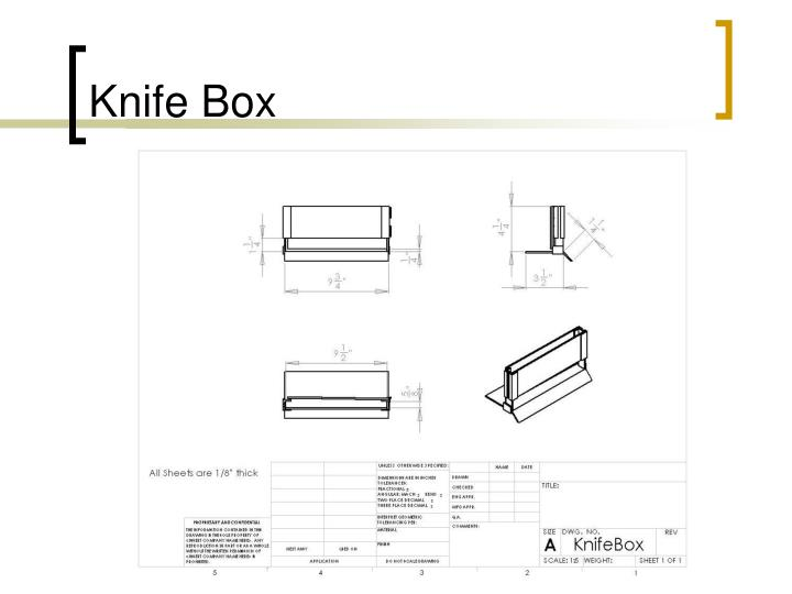 Knife Box