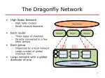 the dragonfly network