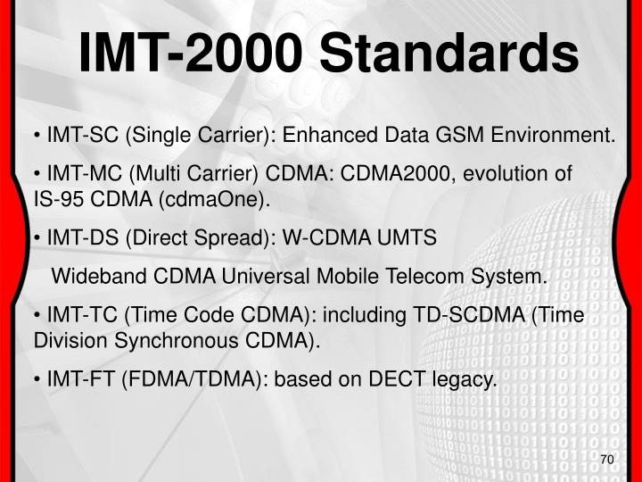 IMT-2000 Standards