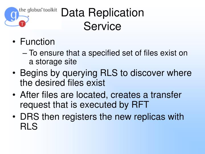 Data Replication