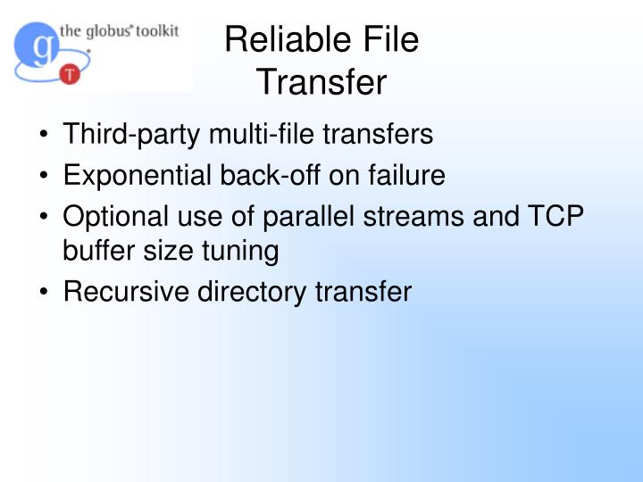 Reliable File