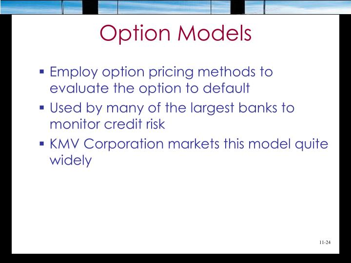 Option Models