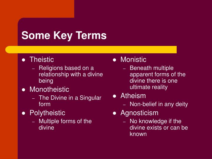 Theistic