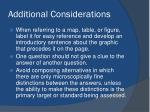additional considerations2