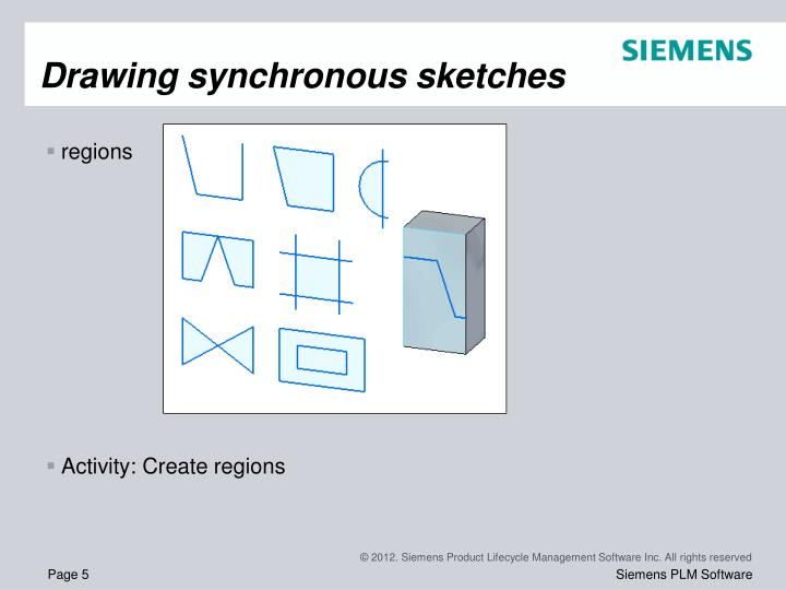 Drawing synchronous sketches