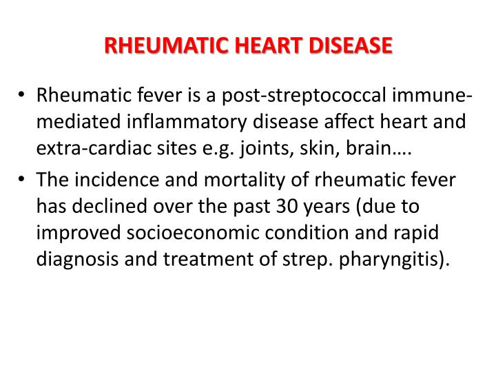 essay rheumatic heart disease