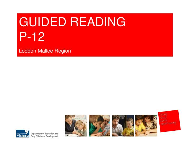 early reading report