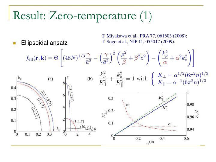 Result: Zero-temperature (1)