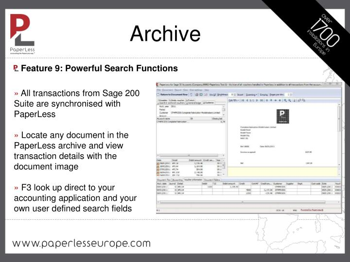 Feature 9: Powerful Search Functions