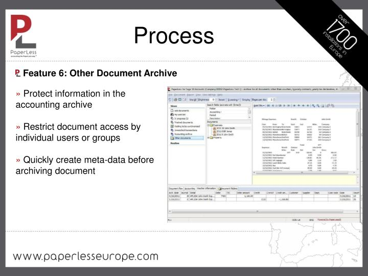 Feature 6: Other Document Archive