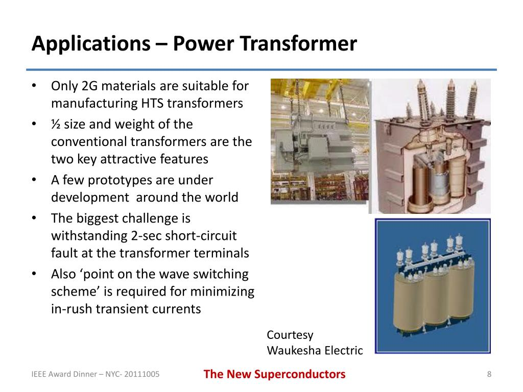 PPT - The New Superconductors - Proposed Applications