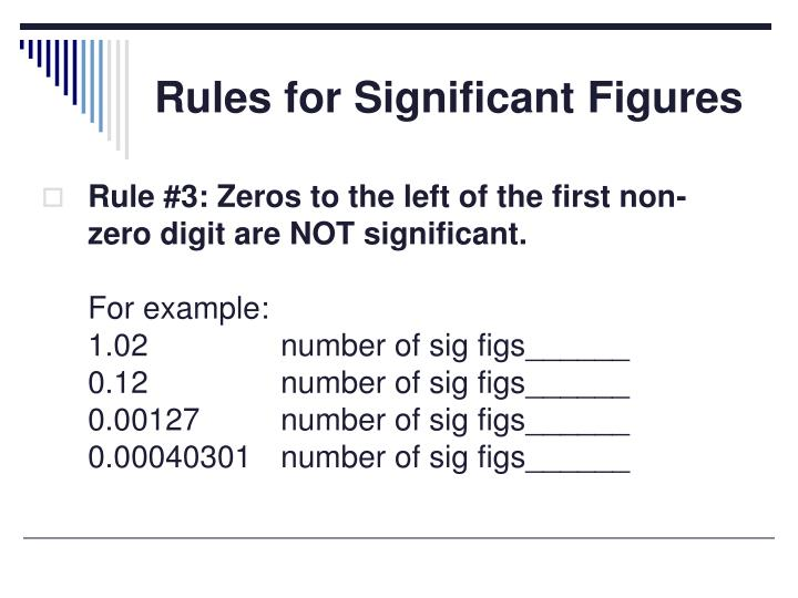 Ppt Significant Figures Powerpoint Presentation Id1710278