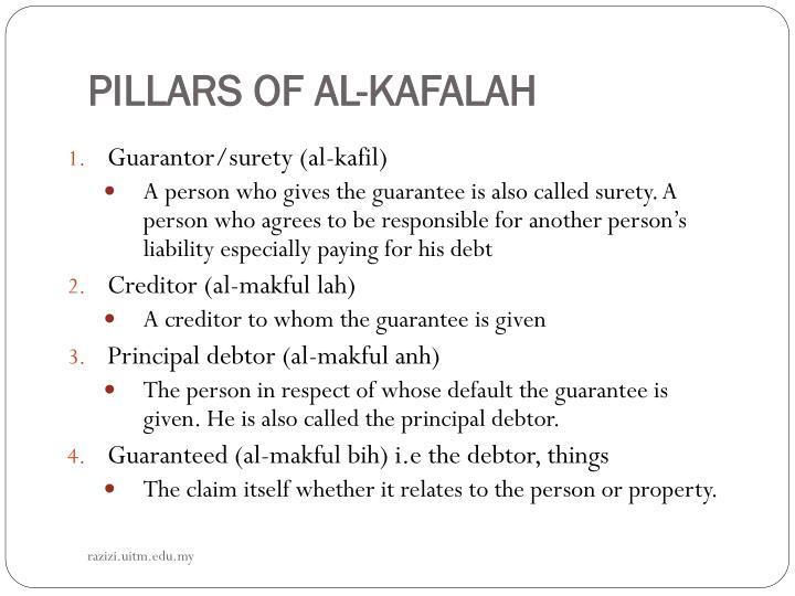 PILLARS OF AL-KAFALAH
