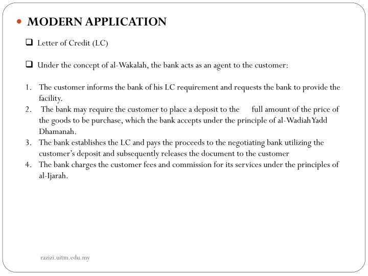 Letter of Credit (LC)