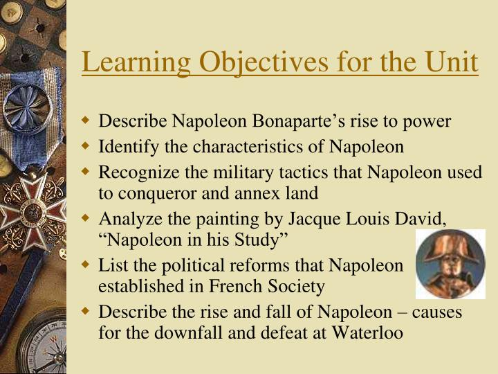 a napoleon bonaparte rise of power Napoleon becomes first consul (1799) instead of returning the nation to how it originally was he left the changes of the revolution and created a republic he set up.