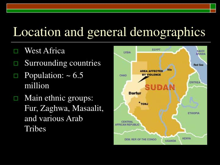 Location and general demographics