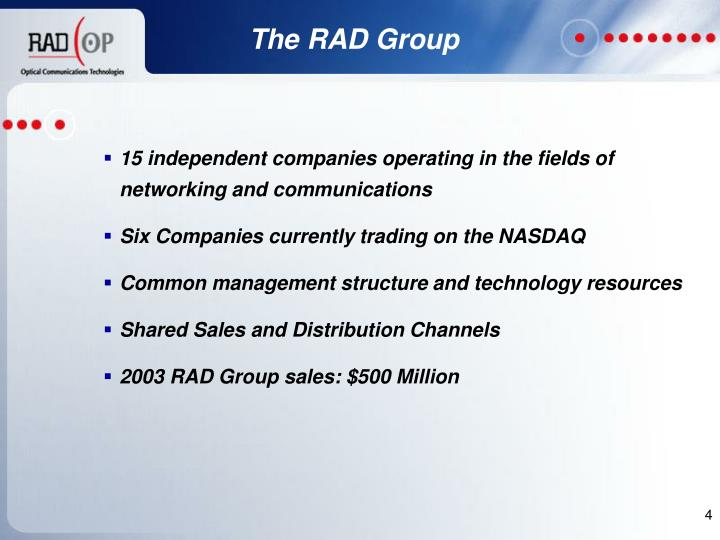 The RAD Group