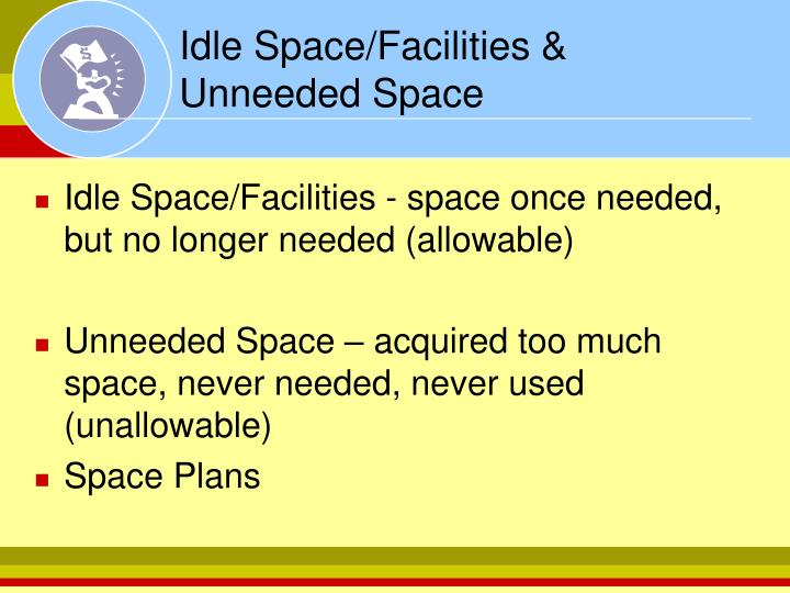 Idle Space/Facilities &