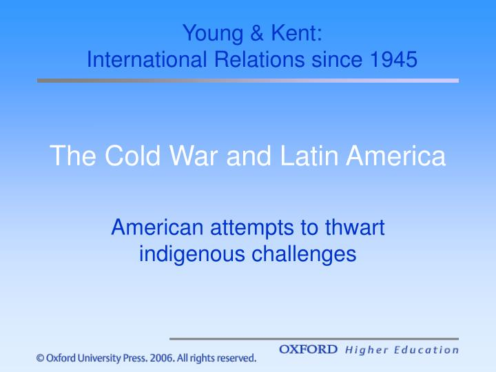 the cold war and latin america n.