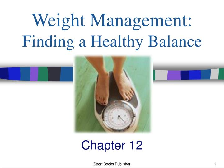 weight management finding a healthy balance