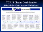 tcais texas coalition for affordable insurance solutions