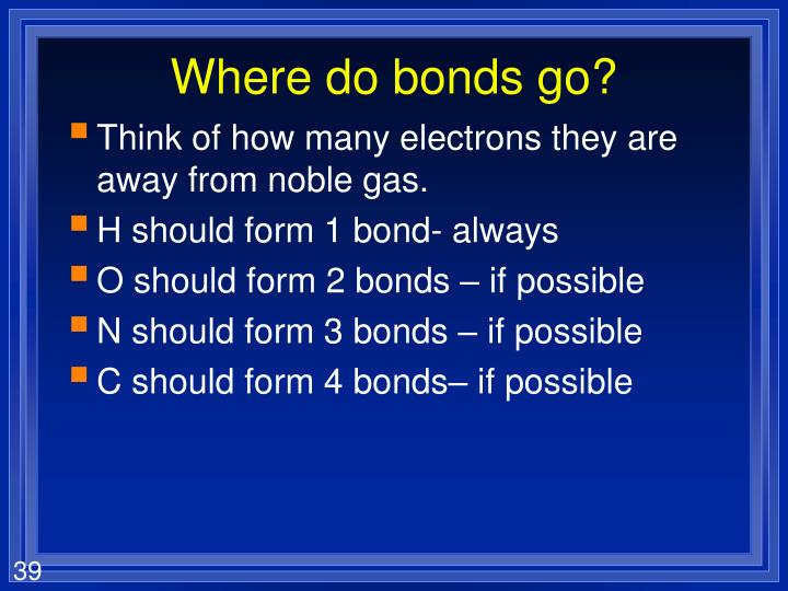 Where do bonds go?