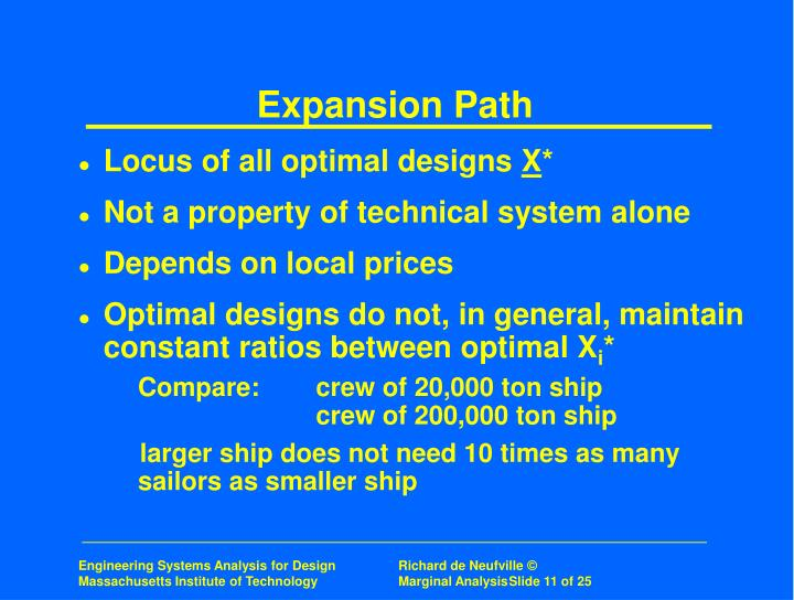 Expansion Path