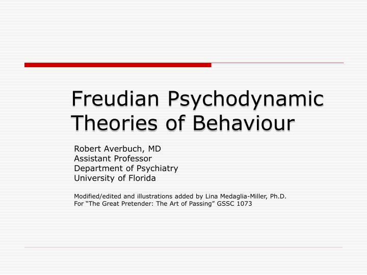 evaluate freuds psychodynamic theory The edexcel specification expects you to understand freud's theories as an alternative to the biological theory of freud's psychodynamic theory evaluation.