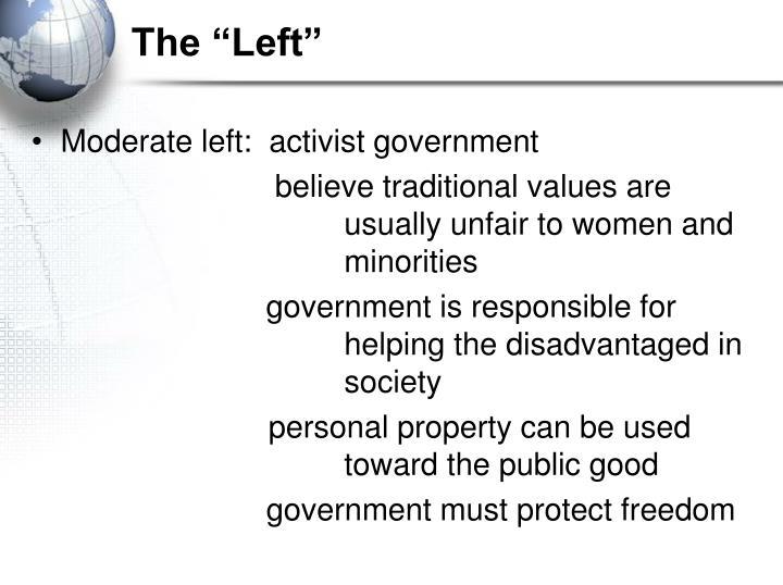 "The ""Left"""