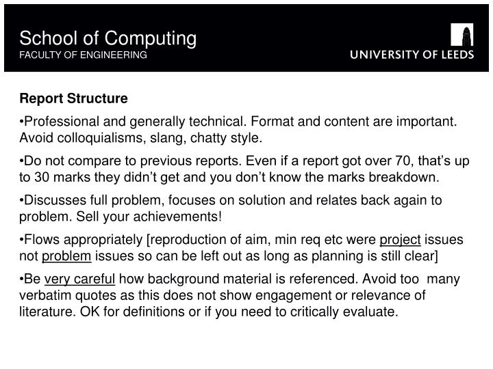 School of Computing