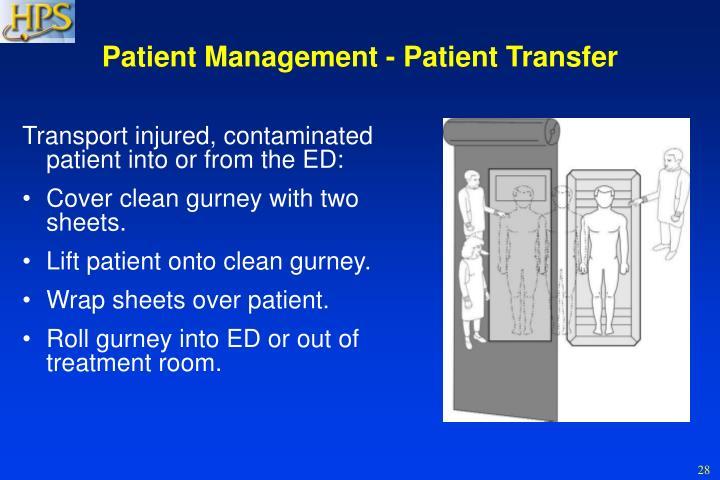 Patient Management - Patient Transfer