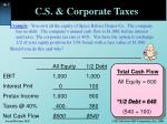 c s corporate taxes4