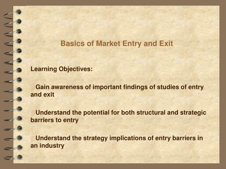barriers to entry and exit symbian Start studying 337 barriers to market entry and exit learn vocabulary, terms, and more with flashcards, games, and other study tools.