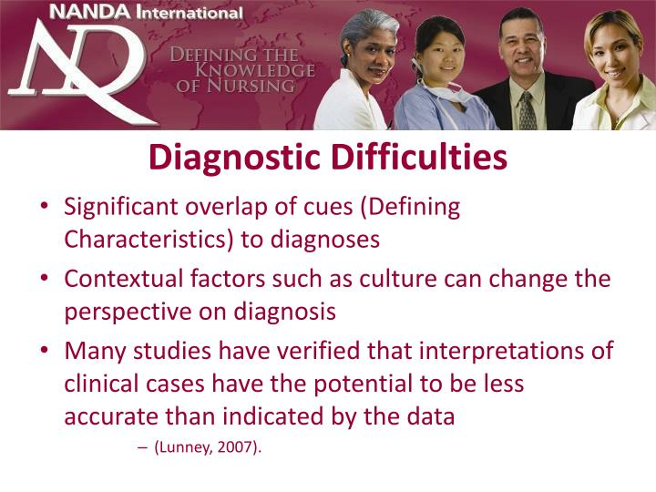 Diagnostic Difficulties