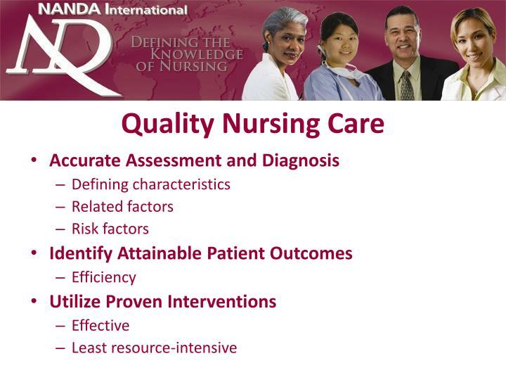 Quality Nursing Care