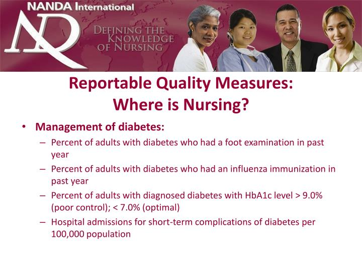 Reportable Quality Measures: