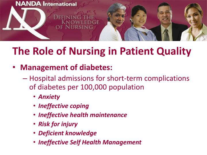 The Role of Nursing in Patient Quality