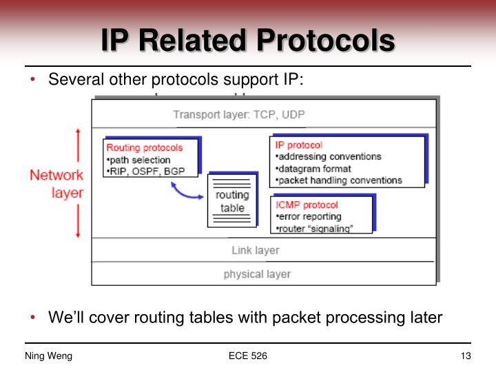 IP Related Protocols