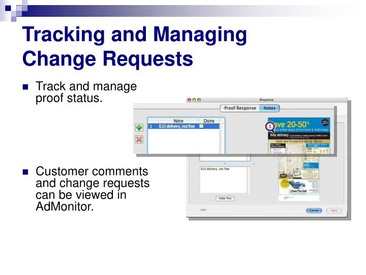 Tracking and Managing