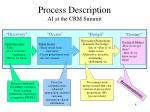 process description ai at the crm summit