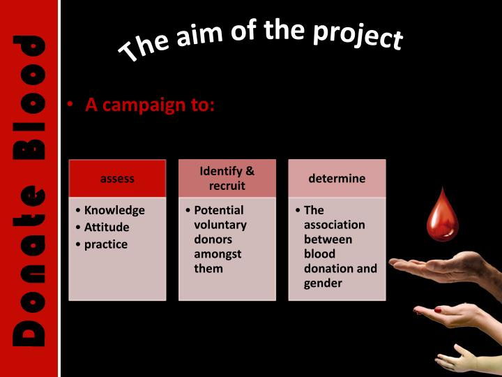 The aim of the project