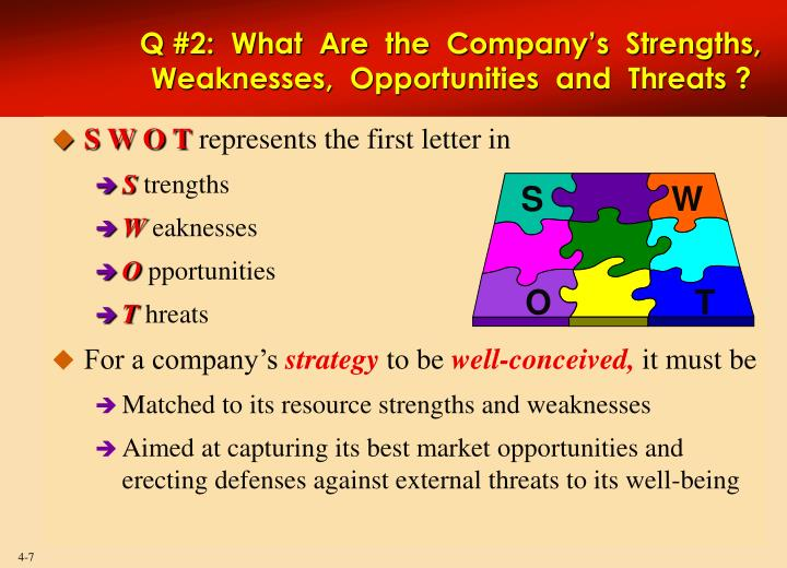 what are the mercedes company s strength and weaknesses Pare the relative strengths and weaknesses of companies 16 financial ratios for analyzing a company's strengths and weaknesses by z joe lan article highlights.